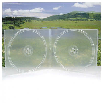 2CD Box; Translucent
