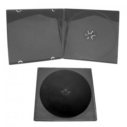 Slim CD Box; Black