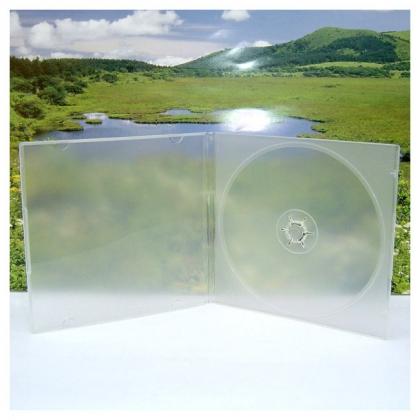 Slim CD Box; Translucent