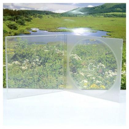Slim CD Box; Super Clear