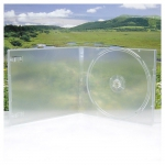 1CD Box; Translucent