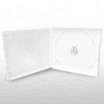 1CD Box; White