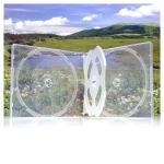 3/4CD Box; Super Clear