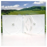 3/4CD Box; White