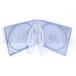 6CD Box; Clear Blue