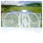 6CD Box; Super Clear