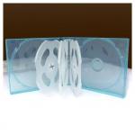 8CD Box; Clear Light Blue