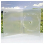 1DVD Box; Translucent