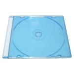 Slim Jewel Case; Clear Blue