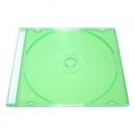 Slim Jewel Case; Clear Green