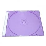 Slim Jewel Case; Clear Purple