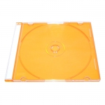 Slim Jewel Case; Clear Yellow