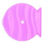 12cm Q-PAK; Clear Purple