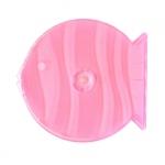 8cm Q-PAK; Clear Pink